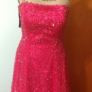PInk Prom Or Party Dress Sz 6